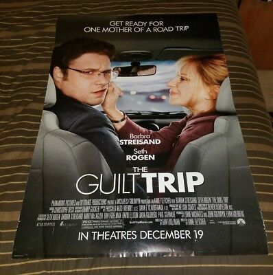 The Guilt Trip 2012 Barbra Streisand DS 27x40 Movie Poster