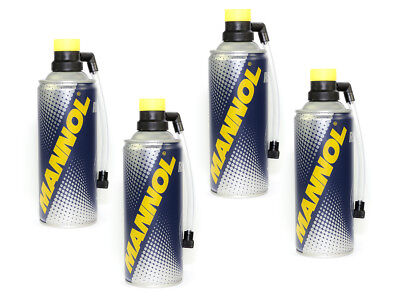 MANNOL Tyres Doctor Puncture repair spray Tire sealant Roadside assistance 4 Pcs