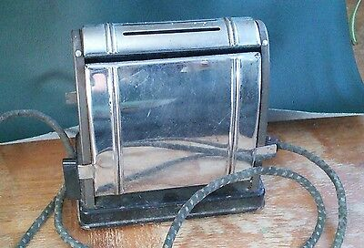 Antique Miracle Electric Flip Side Toaster