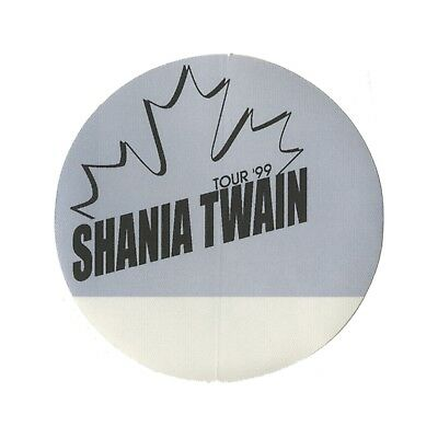 Shania Twain authentic Guest 1999 tour Backstage Pass