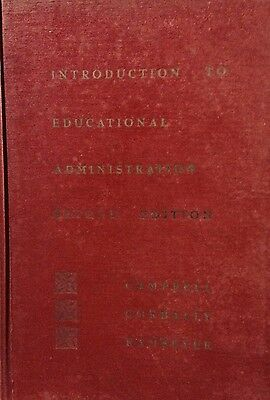 1962 Education Administration Guide Manual for Teachers, Administrators