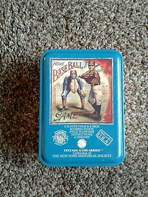Channel Craft TTHB Home Baseball in a Vintage Game Tin New