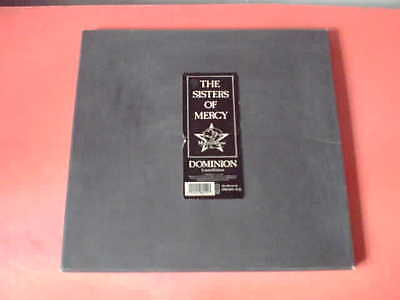 """SISTERS OF MERCY Dominion Limited Edition 12"""" Vinyl Box + Poster!"""