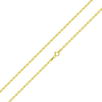 "14k Yellow Gold 1.8 mm Valentino Chain Necklace, 16"" to 20"""