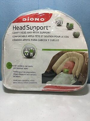 DIONO Head & Neck Support 2in1 car seat, stroller or bouncer seat- Cream
