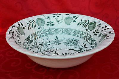 """Green Old Vienna Ironstone Wood & Sons 8"""" Serving Vegetable Dish 4 AVAILABLE"""