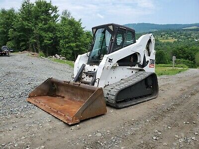 2015 Bobcat T870 Track Skid Steer Fully Loaded High Flow 995 Hours Exceptional!