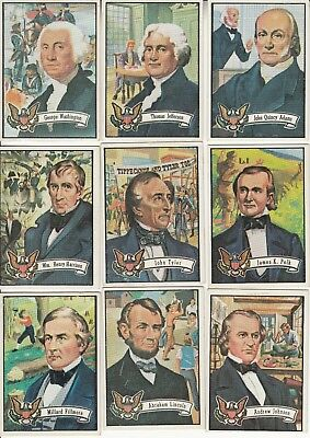 1972 U.S. Presidents - Candidates Lot of 21 Different Lot