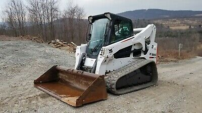 Bobcat T300 Track Skid Steer Low Hrs Pre Emissions Cab A/c Ready To Work In Pa!