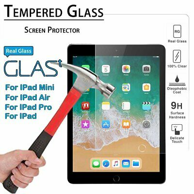Premium Tempered Glass Screen Protector for Mini 1 2 3 iPhone iPad 2 3 4 Air