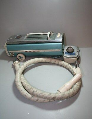 Vintage Electrolux Vacuum Cleaner With Hose And Recoiling Power Cord