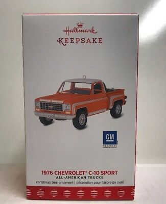 2017 Hallmark Keepsake GM 1976 Chevrolet C-10 Sport Truck Ornament , NEW