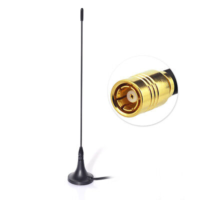 DAB Digital Car Radio Antenna Aerial SMB Straight with Magnetic Base 4M Cable