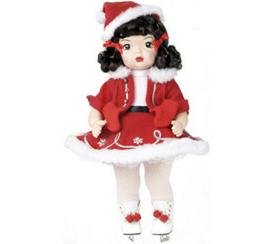 Terri Lee Holiday Doll Christmas Ice Skater Limited Edition Knickerbocker 16""