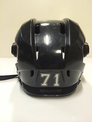 EVGENI MALKIN 06'07 ROOKIE Pittsburgh Penguins Pro Practice Used Worn Helmet