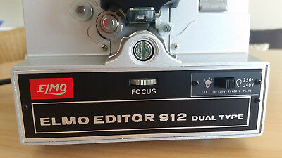 ELMO EDITOR 912 DUAL TYPE (8MM) BOXED Made in Japan
