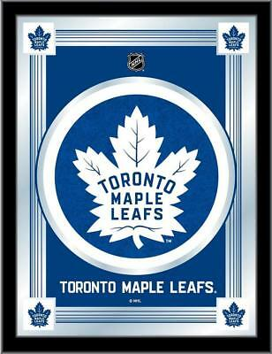 Toronto Maple Leafs Logo Mirror Wall Art