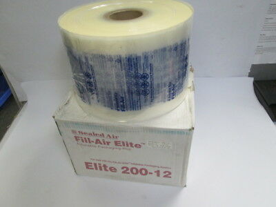 """Sealed Air 200-12 Fill-Air Elite 8"""" x 12"""" Inflatable Packaging Roll 2130' Bubble"""