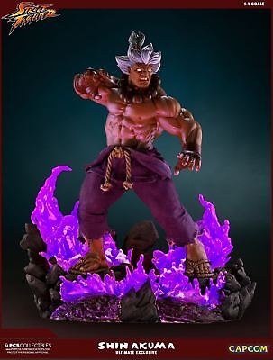 Pop Culture Shock PCS Street Fighter Shin Akuma 1:4 10 yr Ultimate Ex FULLY PAID
