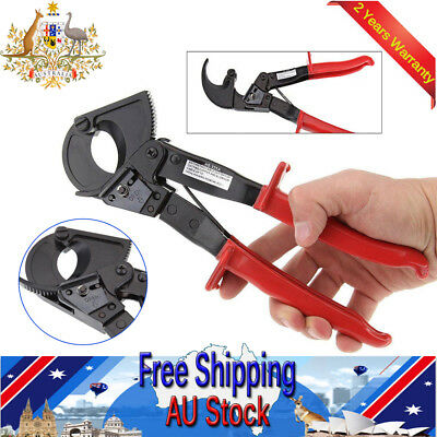 Ratchet Cable Wire Cutter Ratcheting Wire Plier Up To 240mm² Hand Tool AWG 600