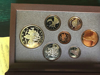 1994 Canadian Proof Set ✪ Original Box & Coa ✪ Rcm 7 Piece Canada Pl