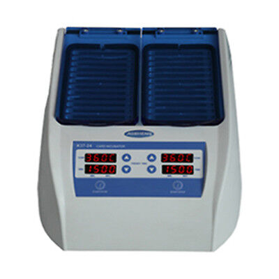 Digital 24 Gel Card Incubator 37 Degrees Thermostat Timer Function CE