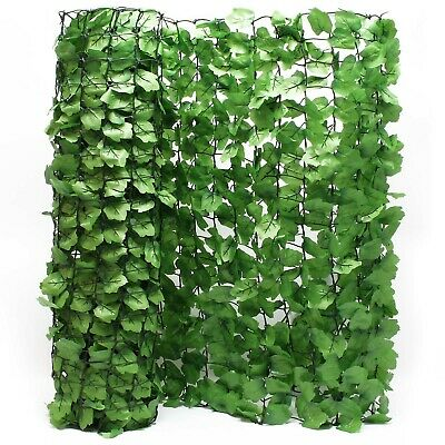 Visual Protection Mesh leaves optic 300cm x 100cm wall cover visual Protection c