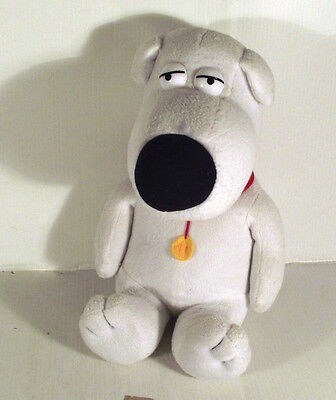 """10"""" Brian The Dog Soft Toy - Family Guy Tv Series"""