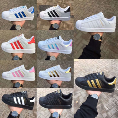 Adidas Superstar Lace Up Trainers