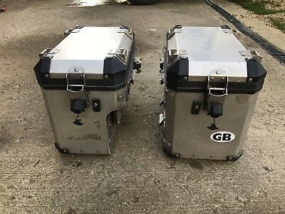 Bmw 1200 gs Adventure Left and Right Touratech Aluminium Panniers