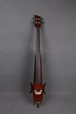 Brown Color New Electric Cello Silent PU Nsolid wood Ebony Part Handmade