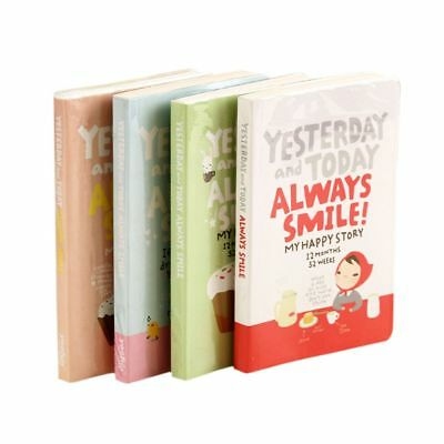 Cute Girl Agenda Week Plan Diary Day Planner Record Notebook