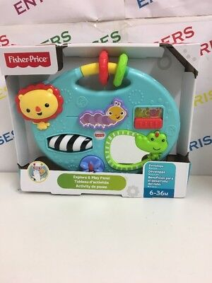 Fisher-Price Explorer & Play Panel NEW & BOXED
