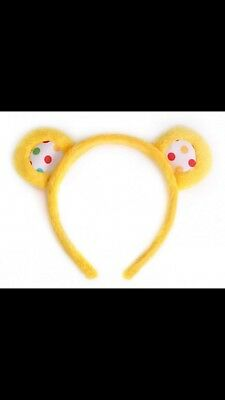 Children In Need Pudsey Bear Hair Band Ears VERY RARE! HARD TO FIND!