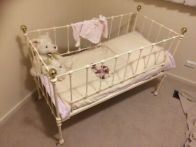 Antique Wrought Iron Cot