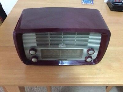 Vintage Hmv Little Nipper  Radio