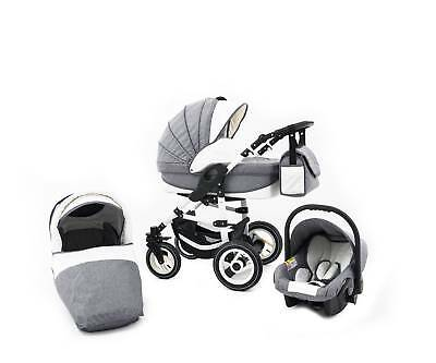 Tabbi ECO LN | 3 in 1 Kombi Kinderwagen