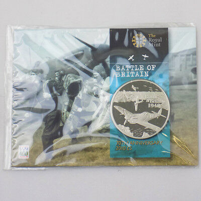 2010 Alderney Battle of Britain Anniversary £5 Coin Presentation Pack Sealed