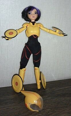 Disney Store 2014 Big Hero 6 Gogo Go Go Tomago Action Doll Rare
