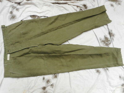 ORIGINAL 1963 M51 EARLY VIETNAM US ARMY UTILITY fatigue TROUSERS PANTS L LARGE