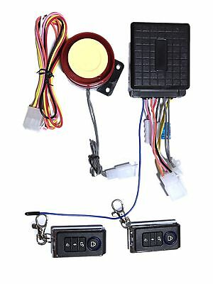 125 dB Motorcycle Anti Theft Alarm System for motorbikes, moped and scooter