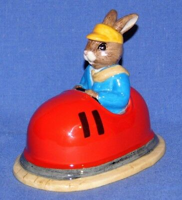 Royal Doulton Bunnykins Dodgem Db249 Box & Certificate Limited Edition 912/2500
