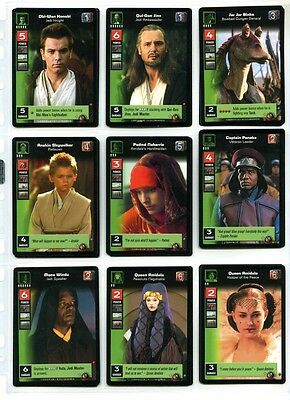 Star Wars Young Jedi CCG Battle of Naboo - Complete Set of Cards - #1 to #140