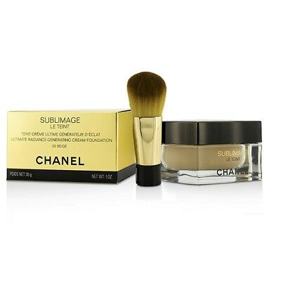 Chanel Sublimage Le Teint Ultimate Radiance Generating Cream Foundation 20 Beige