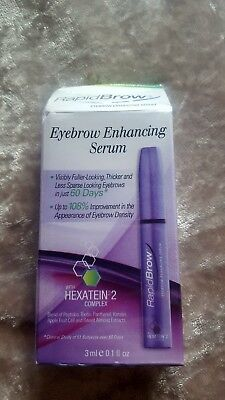 Rapid brow eyebrow enhancing serum rrp £42.99
