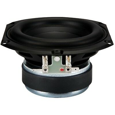 """Peerless by tymphany SDS Series 830855 4"""" Woofer 8 ohm speaker"""