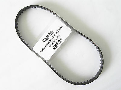 Clarke CS4 6C Belt & Disc Sander - Replacement Toothed Drive Belt.
