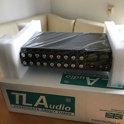 TLA A4, TL Audio Ebony Series A4 Discrete Class A Summing Mixer NEU, OVP, Top!!
