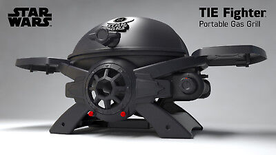 Star Wars TIE-Fighter Disney Gasgrill Premium Edition /BBQ/Steak/Gas/Grill