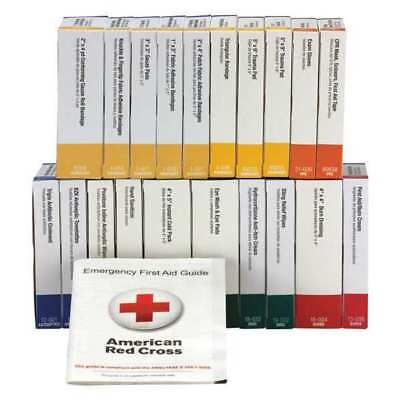 FIRST AID ONLY 90611 First Aid Kit, Refill, Cardboard Case, 131 Pcs., 50 Person